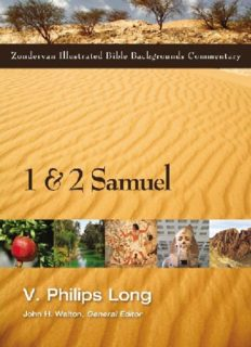 1 and 2 Samuel (Zondervan Illustrated Bible Backgrounds Commentary)