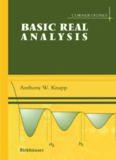 Basic Real Analysis: Along with a companion volume Advanced Real Analysis