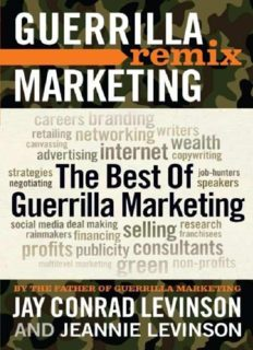 Guerrilla Marketing Remix: The Best of Guerrilla Marketing