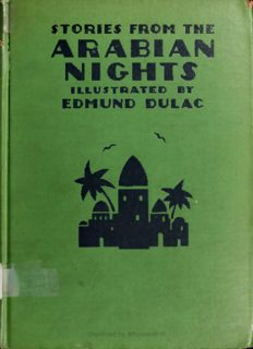Stories from the Arabian Nights retold by Laurence Housman, Bk 1