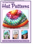 14 Free Crochet Hat Patterns: Crochet Beanie Hats, Crochet Cap