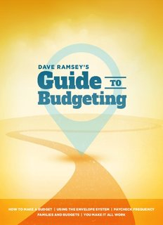 Dave Ramsey Guide to Budgeting