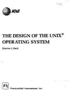 Design of the Unix Operating System By Maurice Bach.pdf - Index of