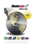 What's New in Mastercam X5 MU1 - Mastercam CAD/CAM