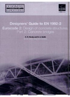 Designers' Guide to EN 1992-1-2 Eurocode 2: Design of concrete structures. Part 2: Concrete Bridges (Designers' Guides to the Eurocodes)