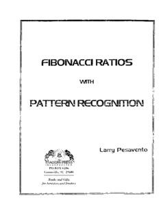 Larry Pesavento - Fibonacci Ratios with Pattern - Trading Software
