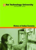 History of Indian Economy