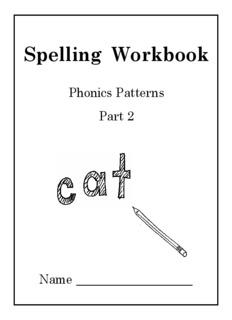Phonics Patterns Workbook 2 - Sound City Reading