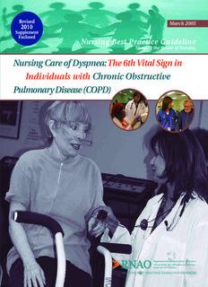 Nursing Care of Dyspnea - Student Nurse Journey