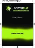 Owner's Manual - Salter | Salter global
