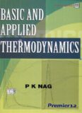 Basic And Applied Thermodynamics.