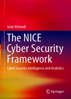 The NICE Cyber Security Framework: Cyber Security Intelligence and Analytics
