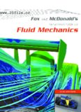 Fox and McDonald's Introduction to Fluid Mechanics, 8th Edition