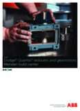 Dodge® Quantis® reducers and gearmotors Menden build center