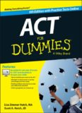 ACT For Dummies, with Online Practice Tests 6th Edition