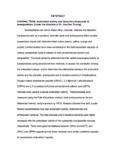 ABTSTRACT CHOONG, TEOW. Antioxidant activity and bioactive
