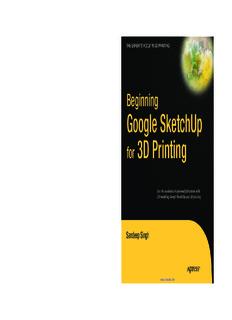 Beginning Google SketchUp for 3D Printing - MiniFabrikam