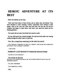 Leigh Brackett - Skaith 3 - The Reavers of Skaith (v1.1)