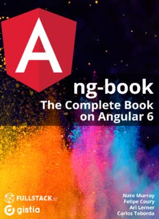 ng-book the complete book on angular6