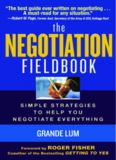 The negotiation fieldbook: simple strategies to help negotiate everything