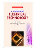 A textbook of Electrical Technology B. L. Thereja All Volumes