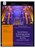 Church History - Ecclesiology and the History of Christian Doctrine