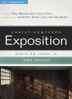 Exalting Jesus in Philippians [Christ-Centered Exposition Commentary]