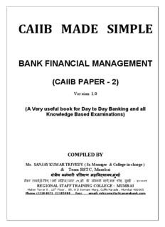 BANK FINANCIAL MANAGEMENT - VIBEWA