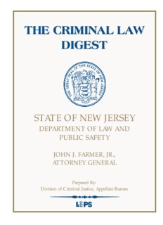 the criminal law digest the criminal law digest