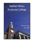 2011-2013 NWGC Catalog - Kean University - Nathan Weiss