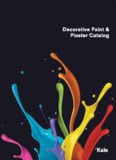 Decorative Paint & Plaster and Thermal Insulation Catalog
