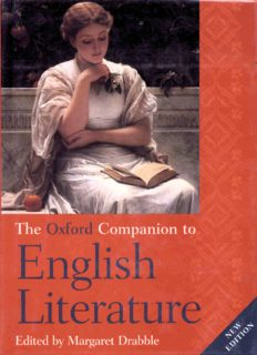 The Oxford Companion to English Literature, 6th Edition