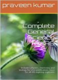 Complete General Science for NSEJS NTSE KVPY IAS Physics Chemistry Biology sifox publication praveen kumar