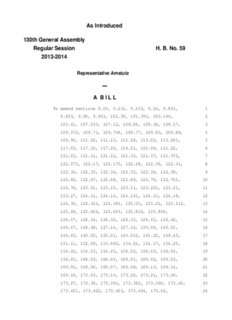 H.B. 59 - Ohio General Assembly