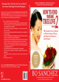 Bo Sanchez's How to Find Your One True Love (Book 2) How