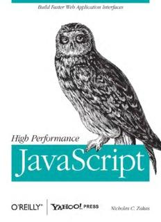 [O`Reilly] - High Performance JavaScript - [Zakas].pdf