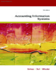Accounting Information Systems, 9th ed.