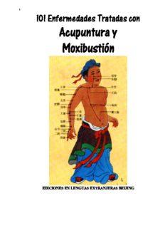 101 enfermedades tratadas con acupuntura y moxibustion  Spanish