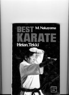 Best Karate, Vol.5: Heian, Tekki (Best Karate)