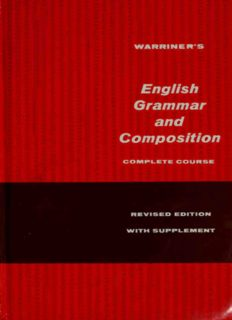 English grammar and composition. complete course