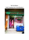 Dot Com Mantra: Social Computing in the Central - Payal Arora