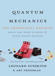 Quantum mechanics. The theoretical minimum