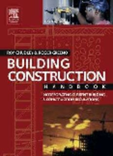 Building Construction Handbook Incorporating Current Building Construction Regulations