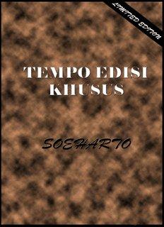 Tempo Edisi Khusus Soeharto - Biar sejarah yang bicara