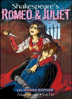 Shakespeare's Romeo and Juliet the manga edition