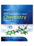 Goyal's IIT Foundation Course: Chemistry for Class 8