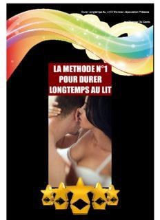 Durer Longtemps Au Lit™ PDF, Livre par Thomas Da Costa √Télécharger √Programme Avis ...