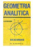 Solucionario Geometría Analítica de Charles H. Lehmann