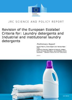 Laundry detergents and Industrial and institutional laundry detergents