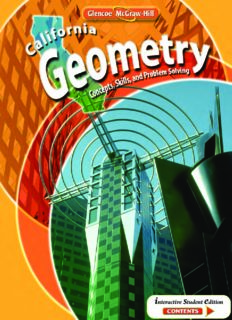 California Geometry - Concepts, Skills, and Problem Solving